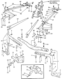 Ford 3000 parts diagram unique ford 800 hard steering to left