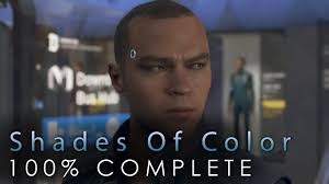 Detroit Become Human Shades Of Color Markus Flowchart Complete 100 Guide