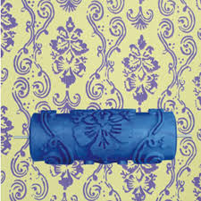 Patterned Paint Rollers Magnificent Hot Model Pattern 48Y 48inch 48D Rubber Decorative Wall Painting