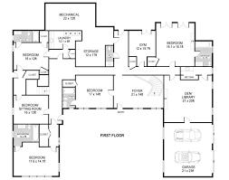 Something Gotta Give Beach House Floor Plan