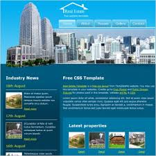 Real Estate Website Templates Enchanting Real Estate Free Website Templates In Css Js Format For Free
