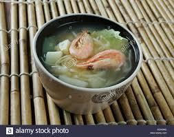Cantonese seafood soup Stock Photo - Alamy