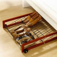 Under The Bed Shoe Storage On Wheels 783115