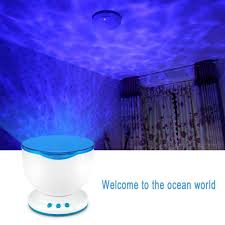 Wave Light Projector Ocean Waves Night Light Ceiling Projector Now Available In