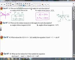 14 2 solving trigonometric equations using inverses