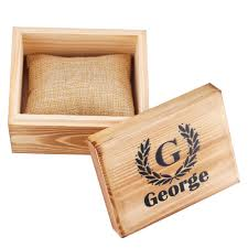 details about personalized wooden retro wedding gift box custom groomsmen wood watch box
