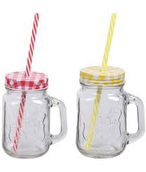 ndeal mason jar glass tea coffee sugar container set of 2