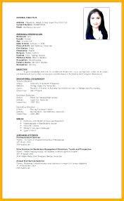 Resume Format Application Resume Application Sample Sample Of Resume Resume To Apply Job 2