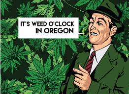 you soon be able to toke after work in oregon out fear of weddoclock gif