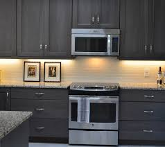 dark stained kitchen cabinets. Contemporary Dark Dark Gray Stained Kitchen Cabinets Cabinet Intended