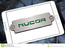 nucor steel corporation logo editorial photography image of multinational motto 101715687