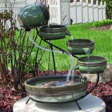 Solar Fountains Largest Selection Of Solar Powered Waterfall