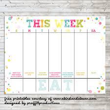 Printable Appointment Calendar 2015 Free Printable Week Calendar July 2019 Weekly Uk Landscape