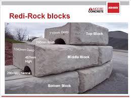 redi rock retaining walls moore concrete
