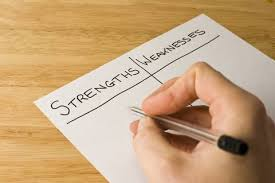 List Of Personal Strengths And Weaknesses List Of Strengths And Weaknesses