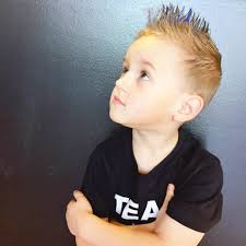 Spiky Hair Style 2016 little boy hairstyles 81 trendy and cute toddler boy kids 3367 by wearticles.com