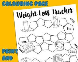 Weight Loss Colouring Chart Printable Weight Loss Coloring Pages Month On 2 Page Printable A5