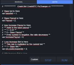 With this script you can create an online multiplayer bitcoin betting game that consists of a growing curve that can be blocked at any time. Crashbtc Script Pochanger V1 Crash Bet