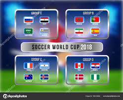 Schedule Table Template Russia 2018 World Cup Calendar Soccer Schedule Table Template
