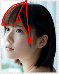 桐谷美玲の前髪の作り方や切り方について