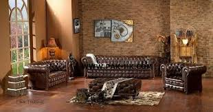 Product Image Sell Antique Leather Sofa Antique23