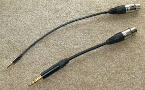 balanced cables i bought a quality 2 feet long 3 5mm male to 3 5mm male cable and cut it in half this way i only had to er the easy to er full size 4 pin