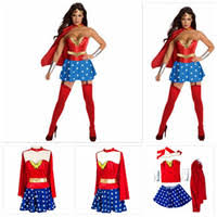 Wholesale Female Movie Characters Costumes For Sale   Halloween Costumes  For Women Wonder Woman Costume Adult