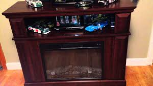 Whalen Fireplace console TV Entertainment Center - Customer Review ...