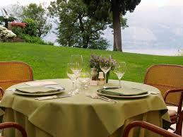Round Table San Lorenzo Hotel Bellevue San Lorenzo Malcesine Italy Bookingcom