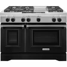 kitchenaid 48 range. kitchenaid - 6.3 cu. ft. self-cleaning freestanding double oven dual fuel convection kitchenaid 48 range n