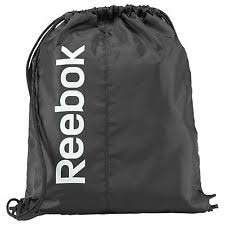 reebok gym bag. reebok drawstring gym bags | ebay bag