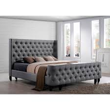 tufted upholstered sleigh bed. Beautiful Upholstered Splendid King Size Bed With Fabric Headboard Table Mesmerizing 34 Upholstered  Sleigh Frame In Tufted