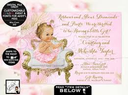 Free Printable Baby Shower Invitations For Girls Baby Shower Invitations Baby Shower Girl Invitations