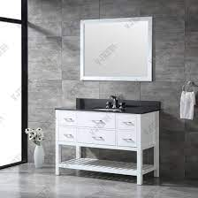 china modern solid wood single sink