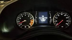 2016 Jeep Renegade Reset Oil Light How To Reset Oil Change Required Light On Jeep Renegade