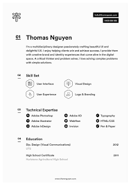 Create A Simple Resumes Create An Infographic Resume And Get Hired 10 Inspiring