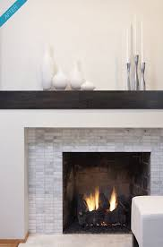 rectangular marble tile bringing together gray and white rustic simple mantel modern fireplace surround n98 modern