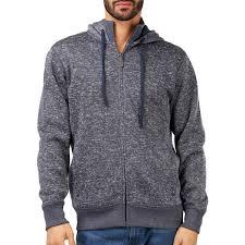 b collection men s hooded fleece jacket navy