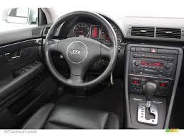 audi a4 2004 black. 2004 audi a4 18t sedan black dashboard photo 45171915