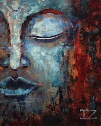 40x70 inches oil painting avatar buddha
