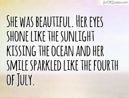 Quotes On Her Beautiful Eyes Best of Beautiful Love Quotes About Her Smile 24 Joyfulvoices