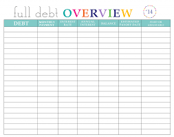 Annual Payment Calculator Paying Off Debt Worksheets 19
