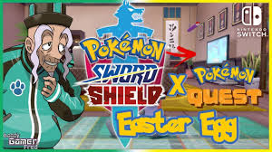 Mustard Playing Pokemon Quest (Easter Egg) Pokemon Sword and Shield Isle of  Armor DLC - YouTube