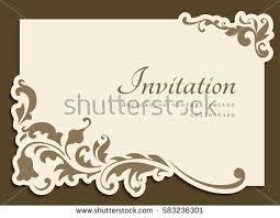 vintage gold rectangle frame floral corner stock vector 583236301 Wedding Card Frame Vector vintage gold rectangle frame with floral corner decoration and cutout paper border, vector wedding invitation wedding card border vector
