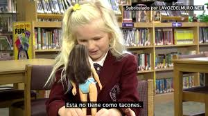 Kids reaction to a realistic doll. Reacciones Lammily Humanity.
