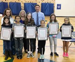 cobb emc d russom elementary th graders winners of the  cobb emc s director of education and community relations mark justice center presents framed essays and prizes to 2017 patriotism essay contest winners at