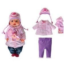 <b>Одежда</b> с принтом для куклы Baby Born <b>Zapf Creation</b>   Игрушки ...