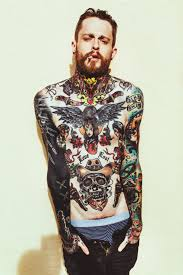 Tom Brennan | Chest tattoo men, Boy tattoos, Body suit tattoo