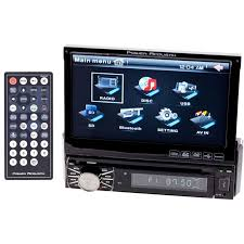 power acoustik ptid 8920b 7 motorized touch screen lcd dvd power acoustik ptid 8920b 7 motorized flip up in dash car stereo main