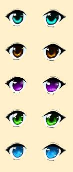 anime eyes color. Plain Color 5 Ways To Color Anime Eyes By SisleyLovesKiro  In D